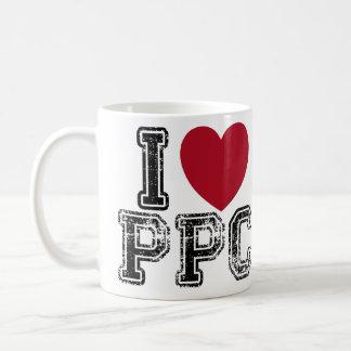 Amo la taza de café del PPC