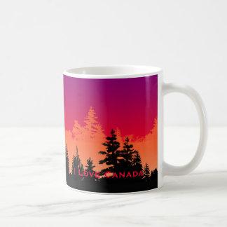 Amo la taza de Canadá