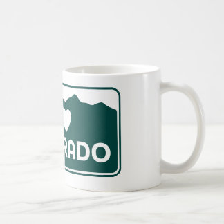 Amo la taza de Colorado