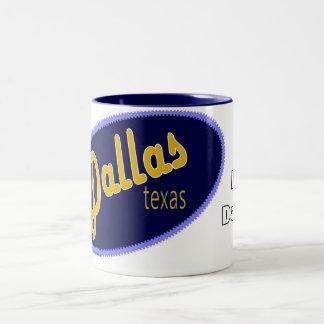 Amo la taza de Dallas Tejas