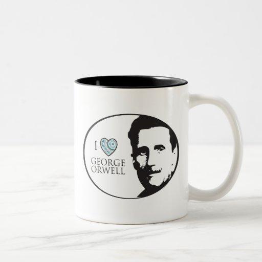 Amo la taza de George Orwell