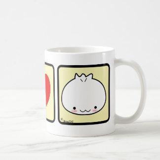 Amo la taza de la bola de masa hervida (más estilo