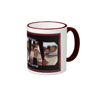Amo la taza de la foto del papá