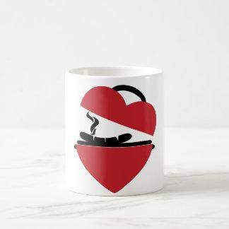 Amo la taza de la parrilla