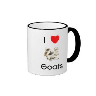 Amo la taza de las cabras