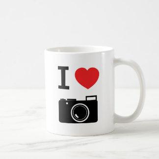 Amo la taza de las cámaras