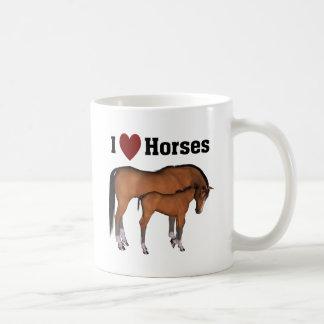 Amo la taza de los caballos