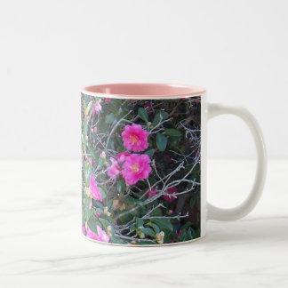 Amo la taza de los camelias