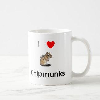 Amo la taza de los chipmunks