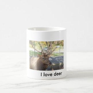 amo la taza de los ciervos