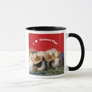 Amo la taza de los conejillos de Indias