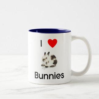 Amo la taza de los conejitos