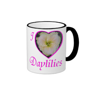 Amo la taza de los Daylilies