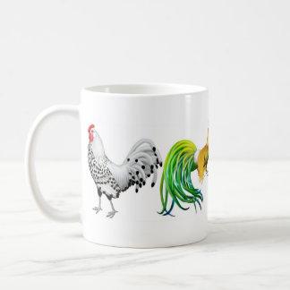 Amo la taza de los gallos