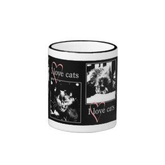 Amo la taza de los gatos