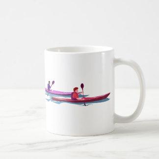 Amo la taza de los kajaks