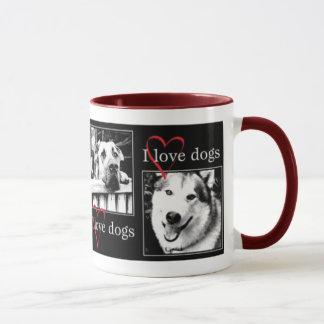Amo la taza de los perros