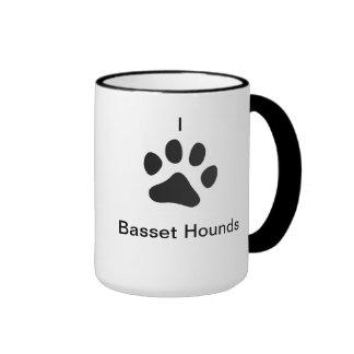 Amo la taza de los perros de afloramiento