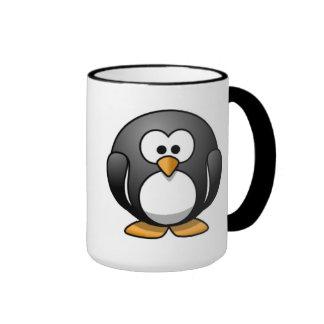 Amo la taza de los pingüinos