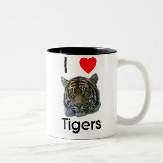 Amo la taza de los tigres