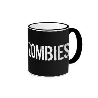 AMO la taza de los ZOMBIS