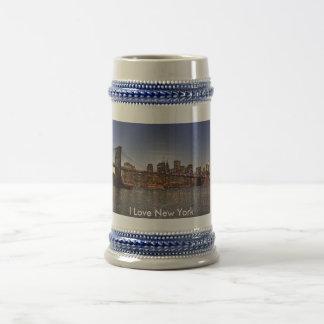 Amo la taza de Nueva York