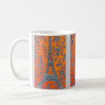 Amo la taza de París del vintage de París