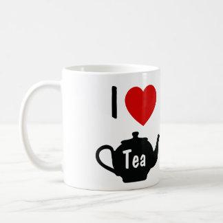 Amo la taza de té del té