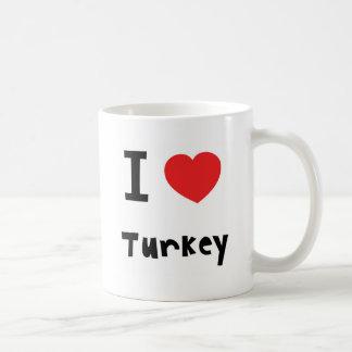 Amo la taza de Turquía