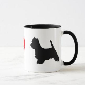 Amo la taza de Westies