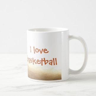 Amo la taza del baloncesto