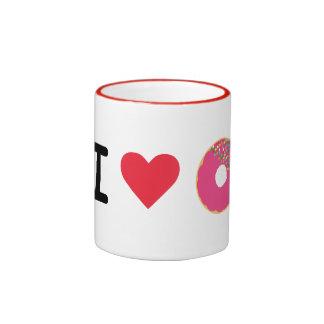 Amo la taza del buñuelo