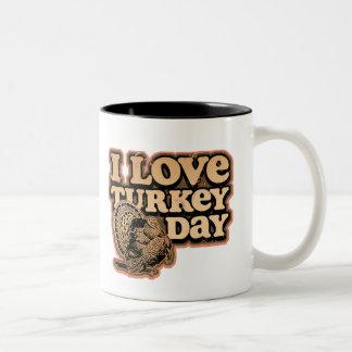 Amo la taza del día de Turquía