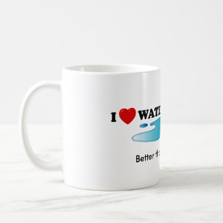 Amo la taza del estándar de Waterboarding