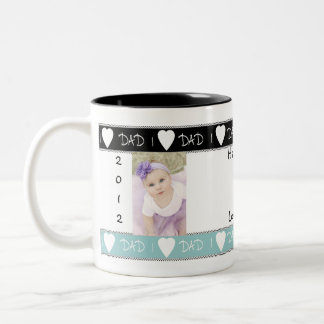 Amo la taza del regalo del papá