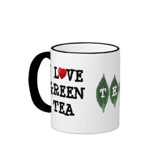 Amo la taza del té verde - taza adaptable