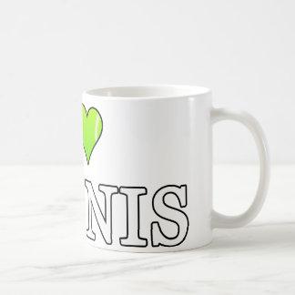 Amo la taza del tenis