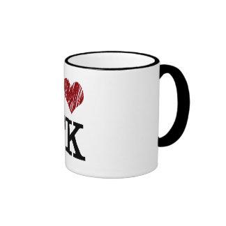 Amo la taza del TK