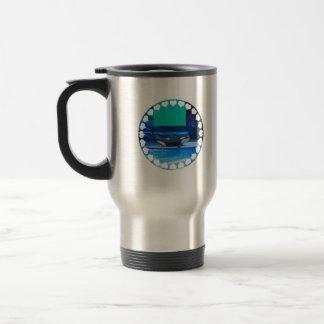 Amo la taza del viaje de las orcas