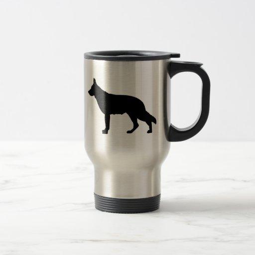 Amo la taza del viaje de los pastores alemanes