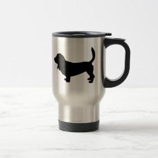 Amo la taza del viaje de los perros de