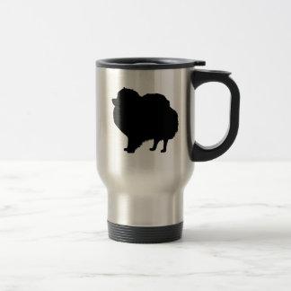 Amo la taza del viaje de Pomeranians
