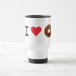 Amo la taza del viaje del buñuelo