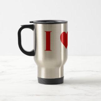 Amo la taza del viajero de Marte