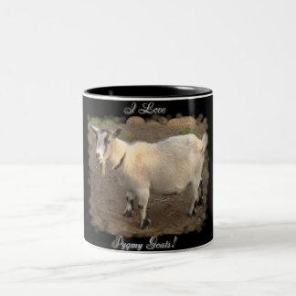 Amo la taza enana de las cabras