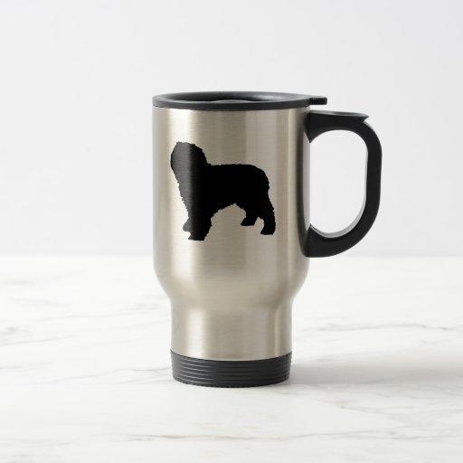 Amo la taza española del viaje de los perros de ag