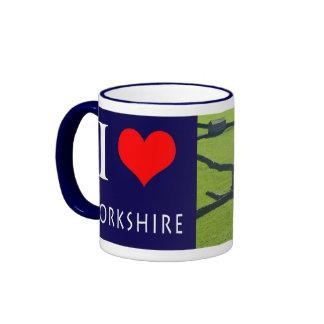 Amo la taza fotográfica de Yorkshire