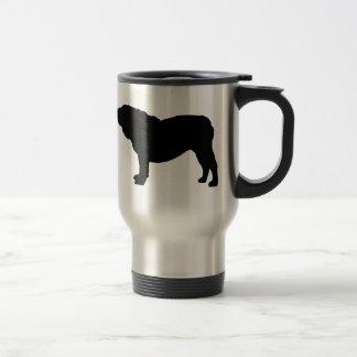 Amo la taza inglesa del viaje de los dogos