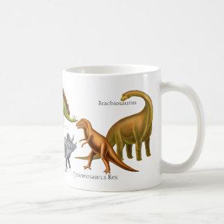 Amo la taza prehistórica de los dinosaurios