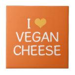 Amo la teja del queso del vegano